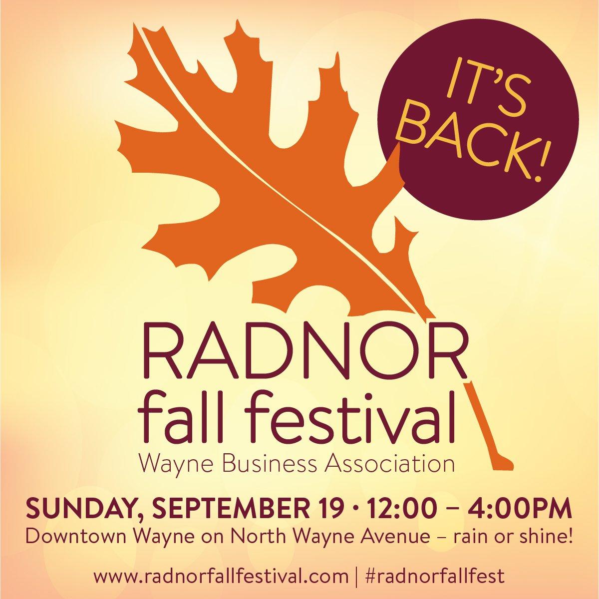 Radnor Fall Fest