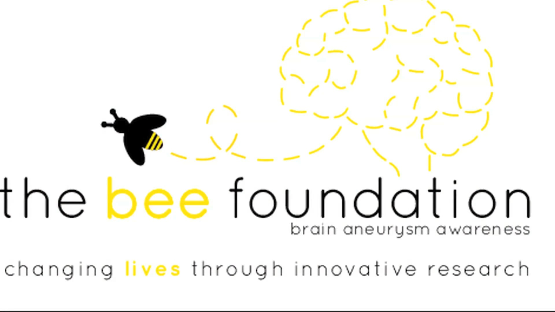 The Bee Foundation brain aneurysm research and awareness