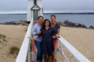 Jenny, Christine, Erin - Nantucket 2011